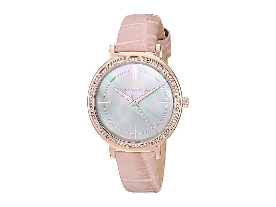 Michael Kors - MK2663 - Cinthia (White/Mother-of-Pearl) Watches