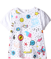 Little Marc Jacobs - Panda Or All Over Printed Short Sleeve Tee Shirt (Infant)