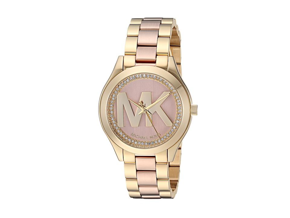Michael Kors MK3650 - Mini Slim Runway (Rose Gold) Watches