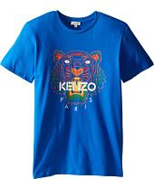 Kenzo Kids - Tiger 5 Tee Shirt (Big Kids)