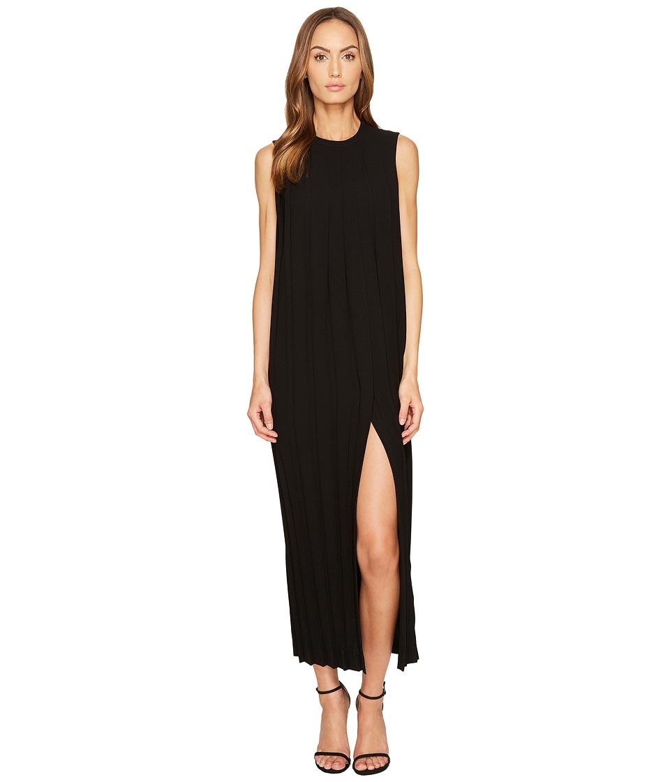 Neil Barrett - Sleeveless Pleated Long Dress