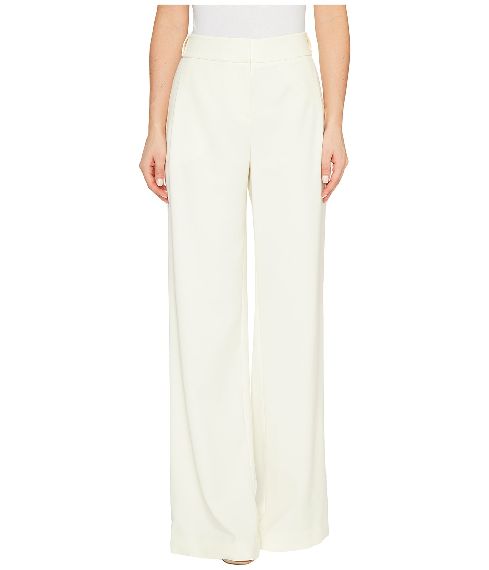 Halston Heritage - Flowy Wide Leg Pants (Cream) Womens Casual Pants