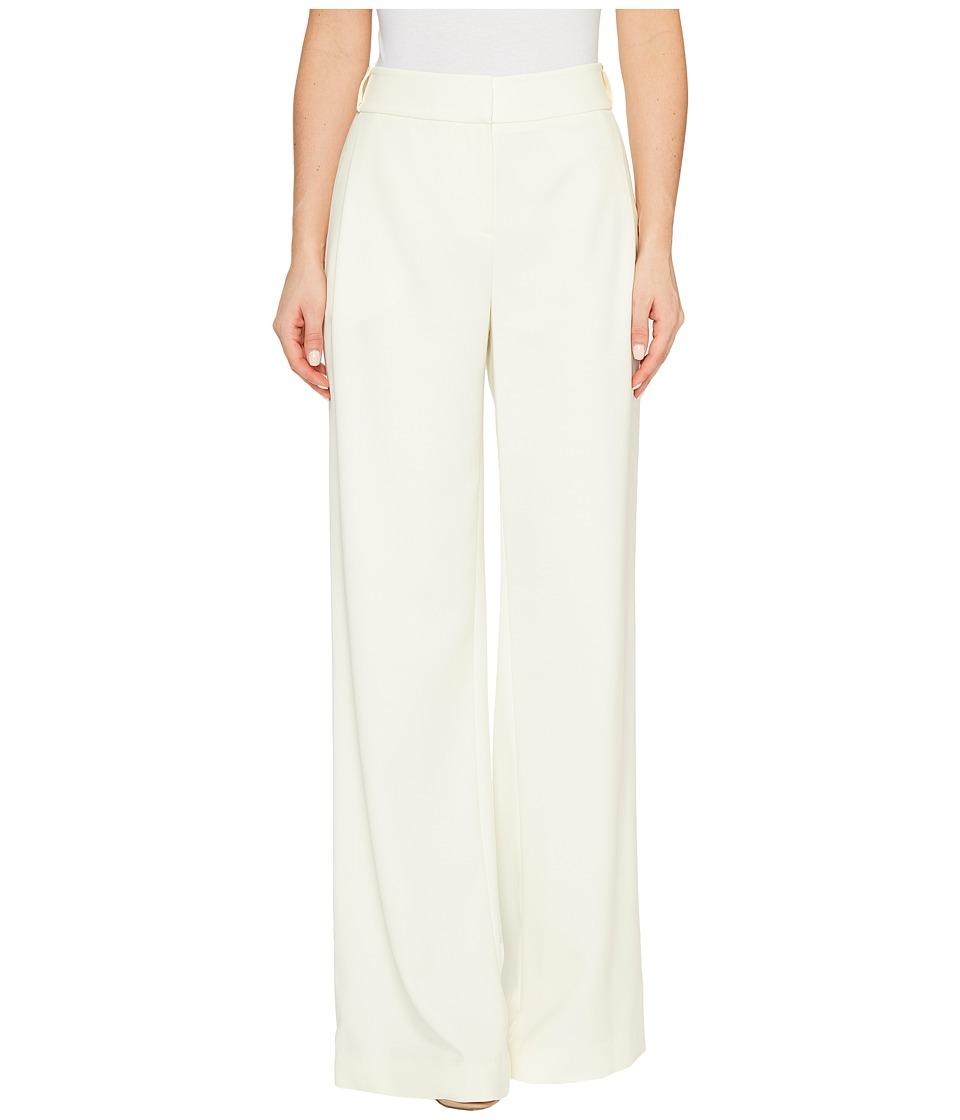 Halston Heritage - Flowy Wide Leg Pants (Cream) Womens Casual Pants
