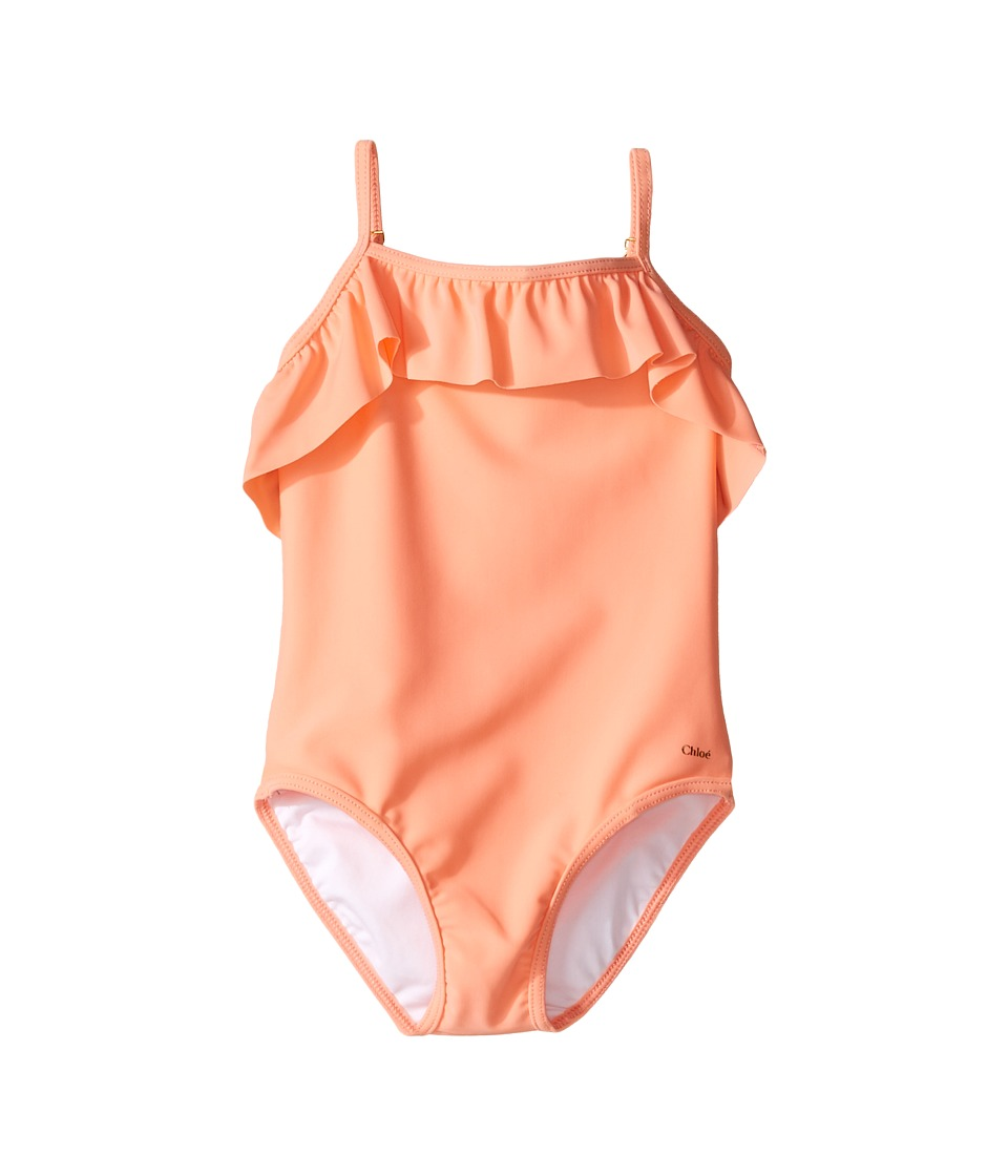 Chloe Kids - Ruffle One-Piece Swimsuit