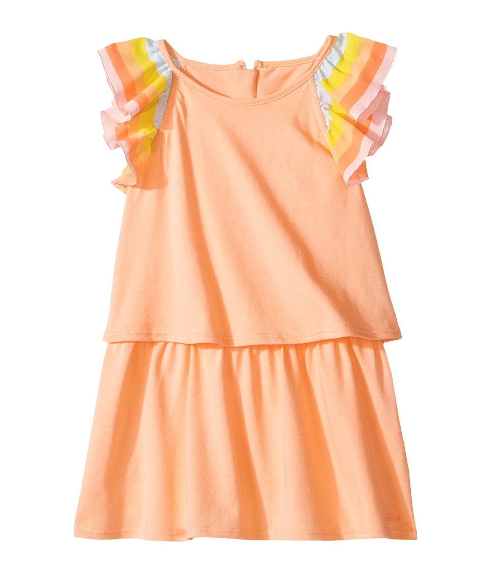 Chloe Kids - Rainbow Ruffle Dress From Adult Collection