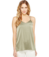 Halston Heritage - Sleeveless Double Strap Satin Cami