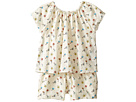 Chloe Kids Flowers Embroidery Romper (Toddler)