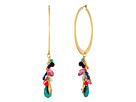 LAUREN Ralph Lauren Pop Style Cluster Drop Hoop Earrings