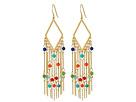 LAUREN Ralph Lauren Pop Style Fringe Chandelier Earrings