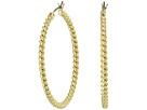 LAUREN Ralph Lauren Perfect Pieces Large Twisted Hoop Earrings
