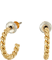 LAUREN Ralph Lauren - Perfect Pieces Small Twisted Hoop Earrings