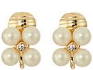 LAUREN Ralph Lauren Two Dozen Roses Mini Cluster Clip Earrings