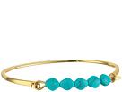 LAUREN Ralph Lauren Turquoise and Caicos Bead and Metal Cuff Bracelet