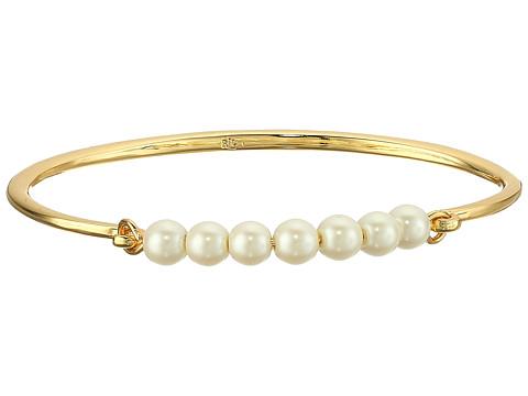 LAUREN Ralph Lauren Two Dozen Roses Bead Top Cuff Bracelet - Gold/Pink/Pearl