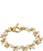 LAUREN Ralph Lauren - Two Dozen Roses 7.5 in Beaded Link Bracelet
