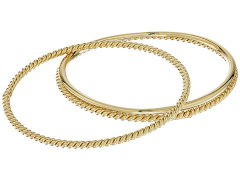 LAUREN Ralph Lauren Perfect Pieces 3 Piece Metal Bangle Bracelet Set - Gold