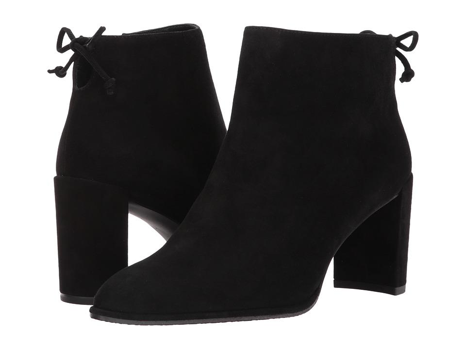 Stuart Weitzman Lofty (Black Suede) Women's Shoes