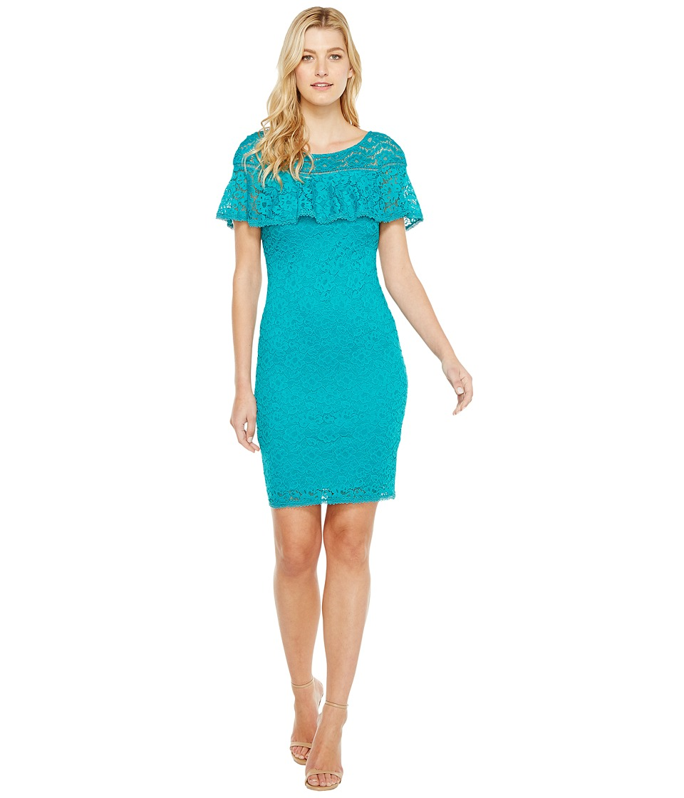 Laundry by Shelli Segal - Stretch Lace Dress