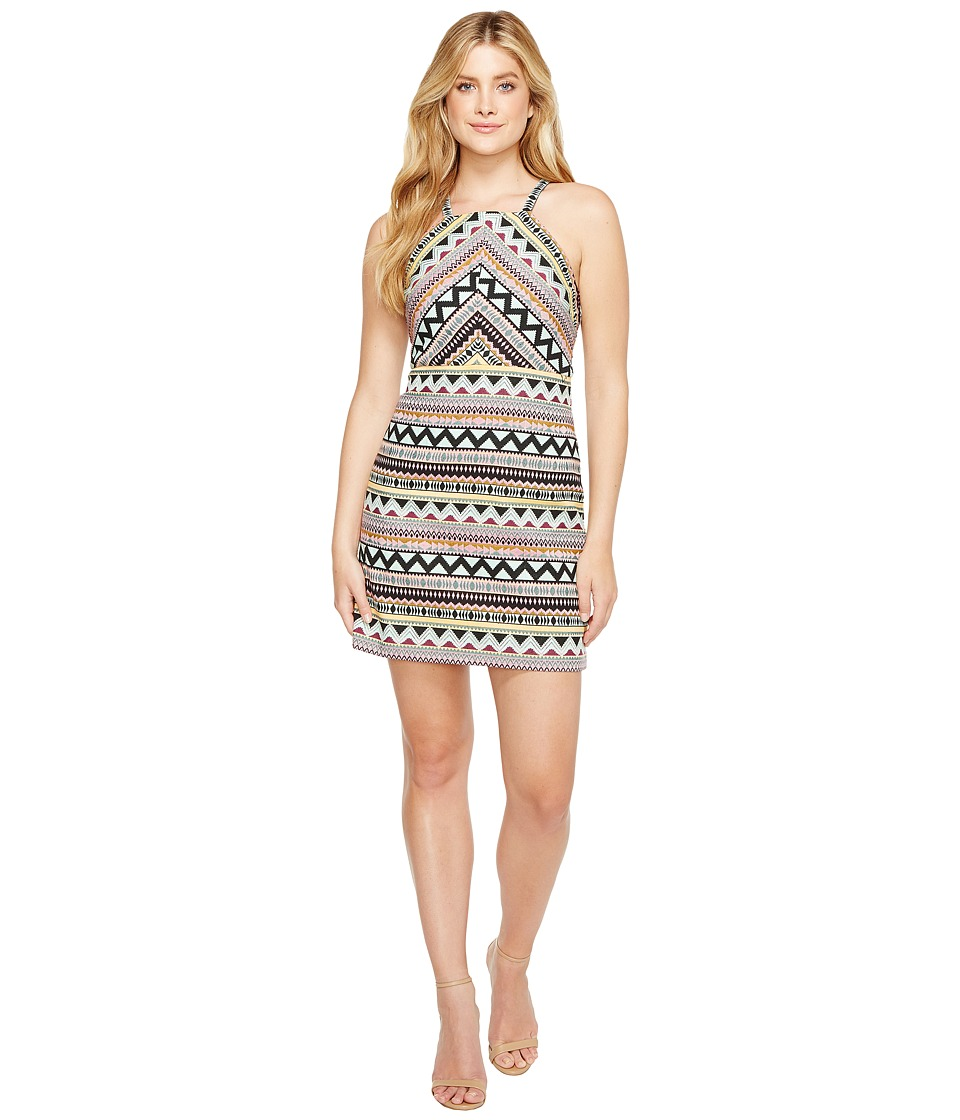 Laundry by Shelli Segal - Aztec Jacquard Halter Dress
