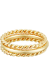 LAUREN Ralph Lauren - Perfect Pieces 3 Piece Twist and Smooth Ring Set