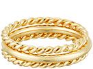 LAUREN Ralph Lauren - Perfect Pieces 3 Piece Twist and Smooth Ring Set