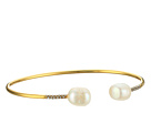 LAUREN Ralph Lauren Talk that Talk Open Pearl Cuff Bracelet