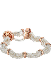 LAUREN Ralph Lauren - Stereo Hearts 7.5 in Fine Chain Ring Bracelet