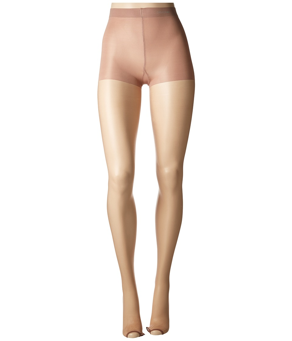 Calvin Klein - Infinite Sheer Toeless with Control Top (Nude) Hose
