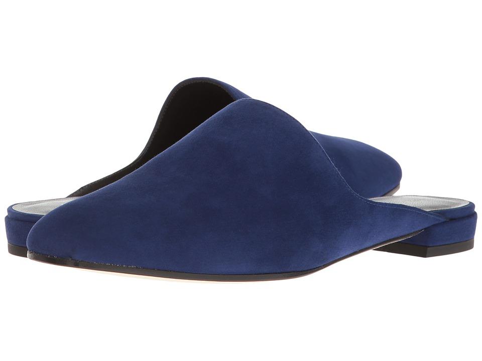 Stuart Weitzman Mulearky (Sapphire Suede) Women's Shoes