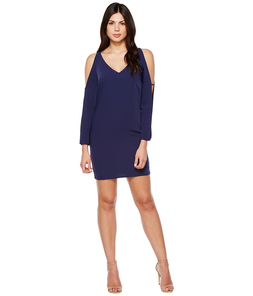 Laundry by Shelli Segal - Split Long Sleeve Tank Cocktail Dress