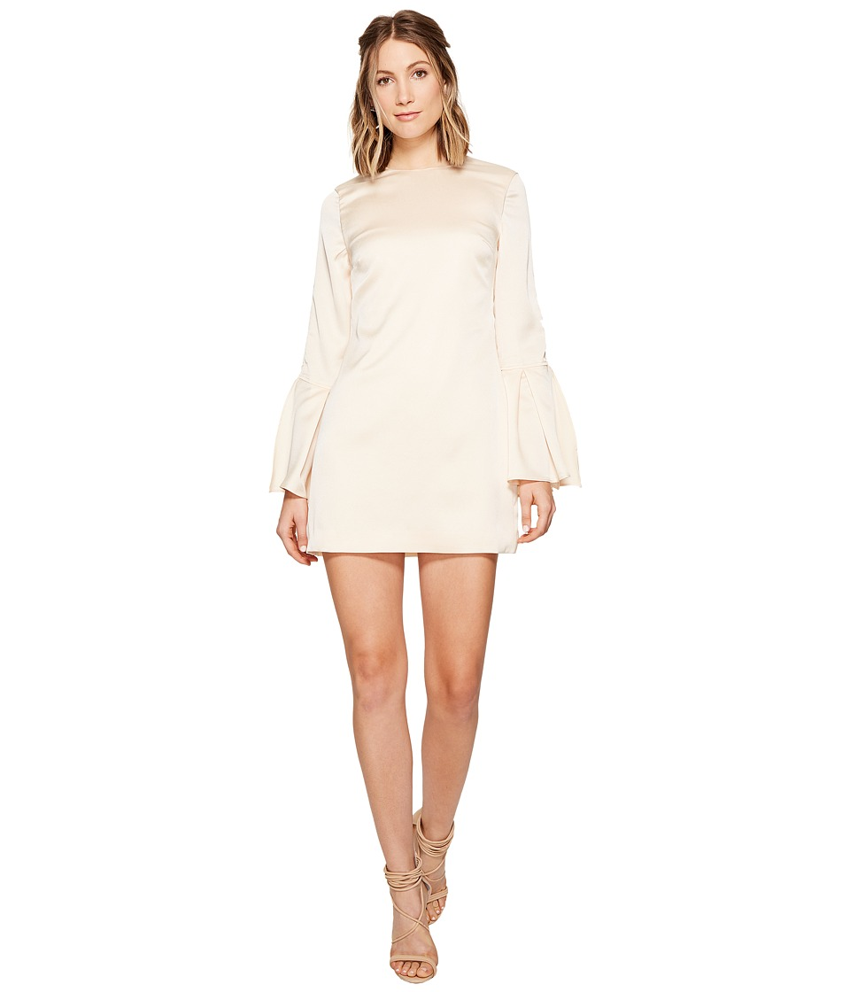 KEEPSAKE THE LABEL Chandelier Long Sleeve Mini Dress (Nude) Women