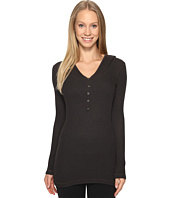 Hard Tail - Long Sleeve Hooded Scoop Henley