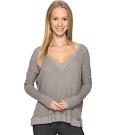 Hard Tail - Long Sleeve V-Neck Sweatshirt