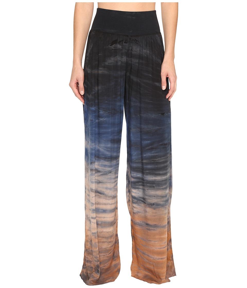 Hard Tail Flat Waist Pants (Rainbow Horizon 37) Women