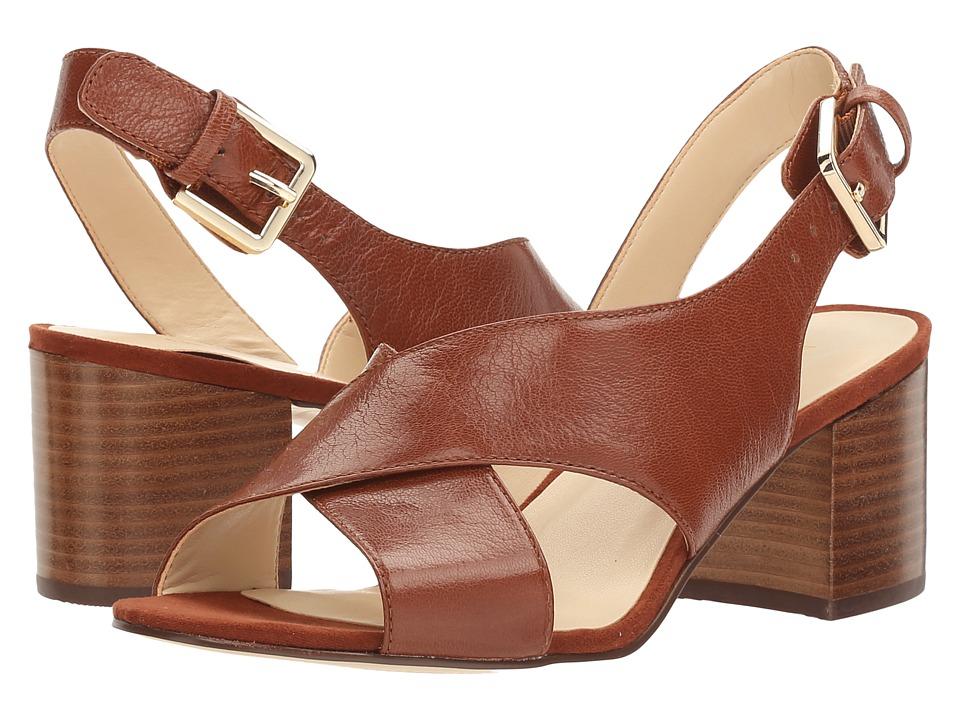 Nine West - GoingSteady (New Saddle/Brown PU) High Heels