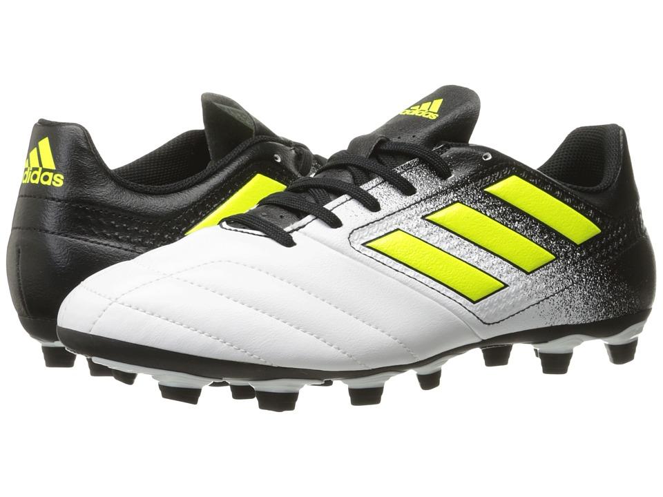 adidas Ace 17.4 FxG (Footwear White/Solar Yellow/Core Black) Men