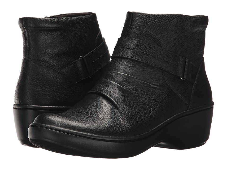 Clarks Delana Fairlee (Black Leather) Women
