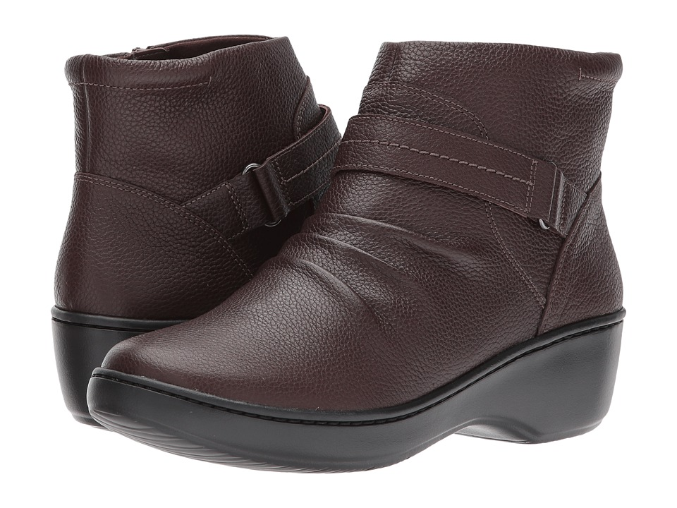 Clarks Delana Fairlee (Dark Brown Leather) Women