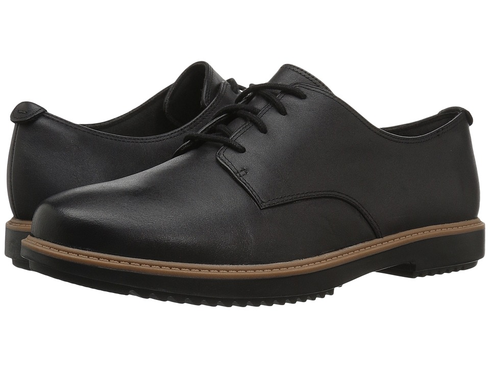 Clarks Raisie Bloom (Black Leather)