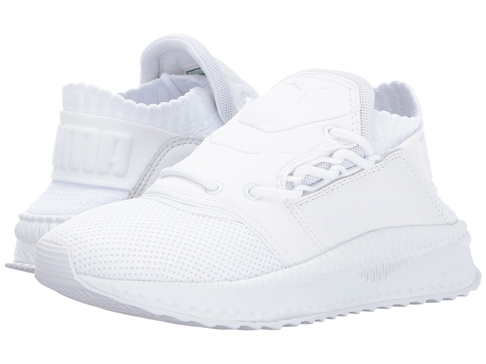 Puma Kids Tsugi Shinsei (Big Kid) (Puma White/Puma White/Puma White) Boys Shoes