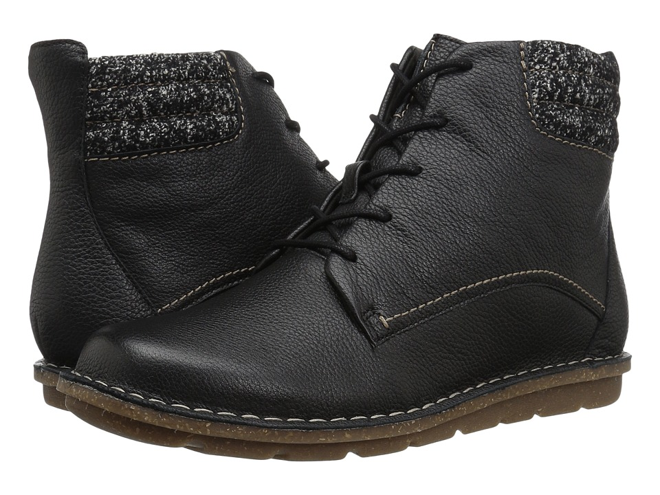 Clarks Tamitha Rose (Black Leather) Women