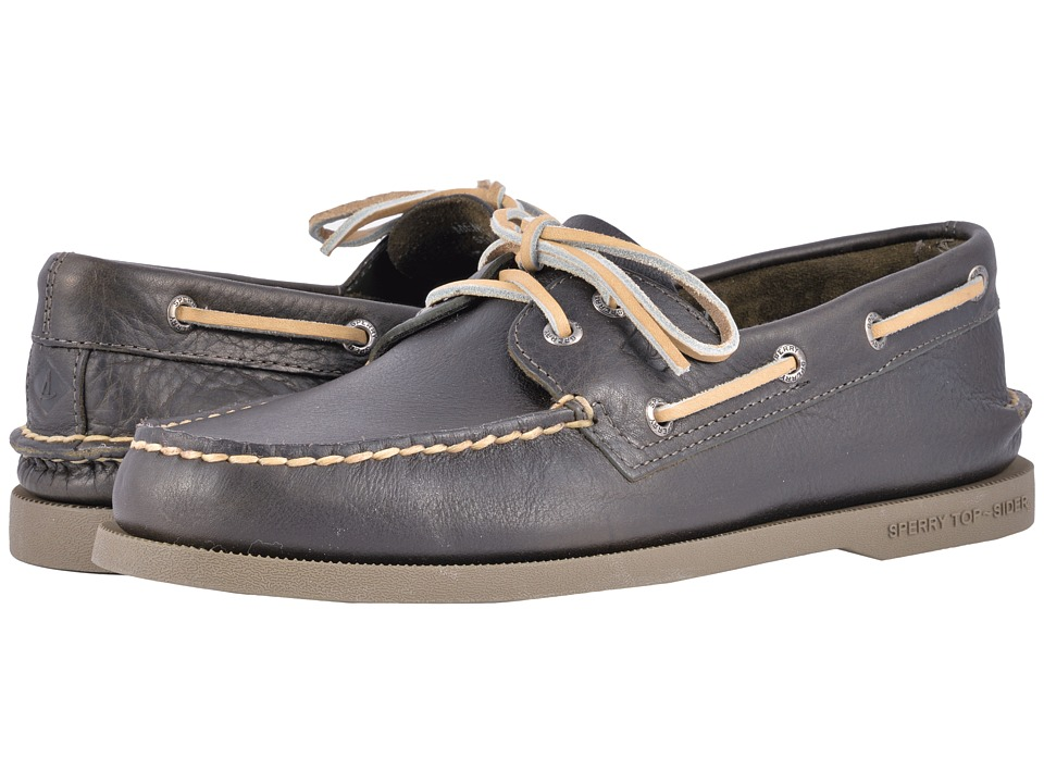 Sperry A/O 2-Eye Color Sole (Olive) Men