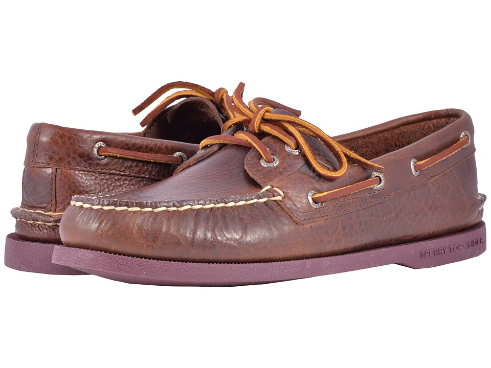 Sperry A/O 2-Eye Color Sole (Brown) Men