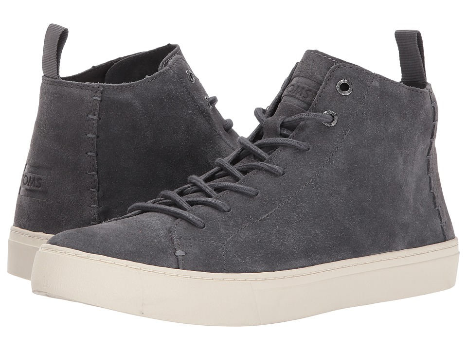 TOMS Lenox Mid (Forged Iron Grey Suede) Men