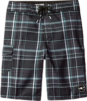 O'Neill Kids - Santa Cruz Plaid Boardshorts (Little Kids)