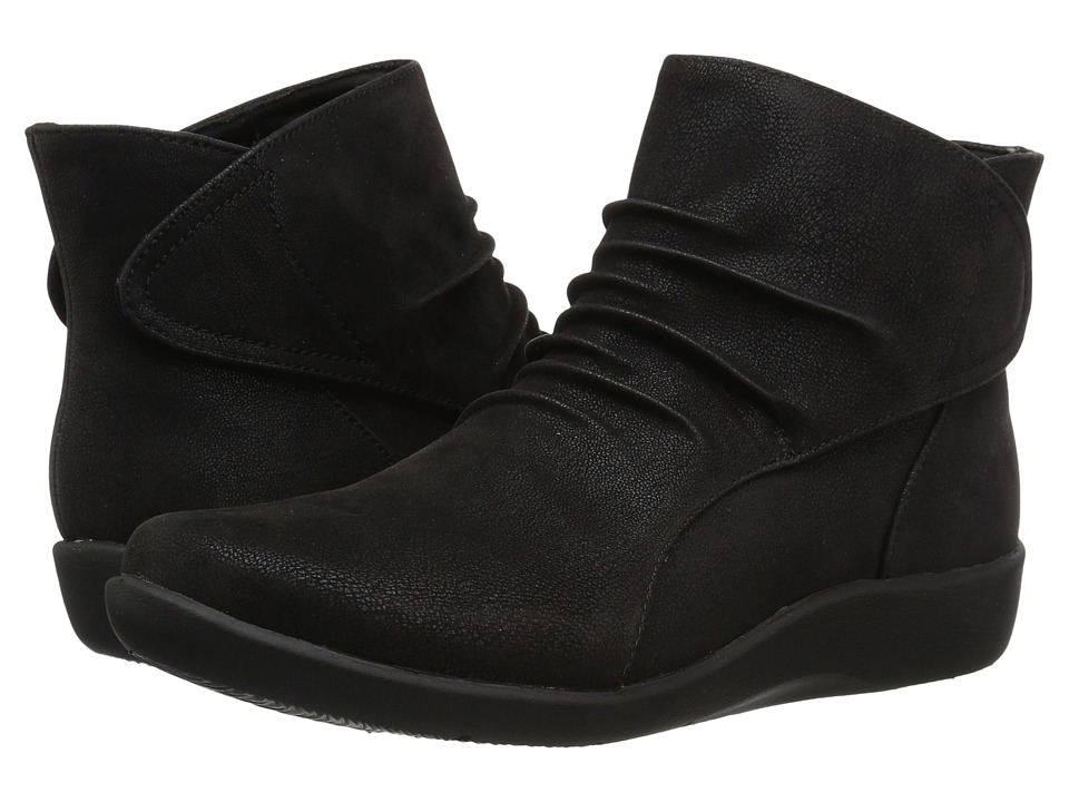 Clarks Sillian Sway (Black) Women