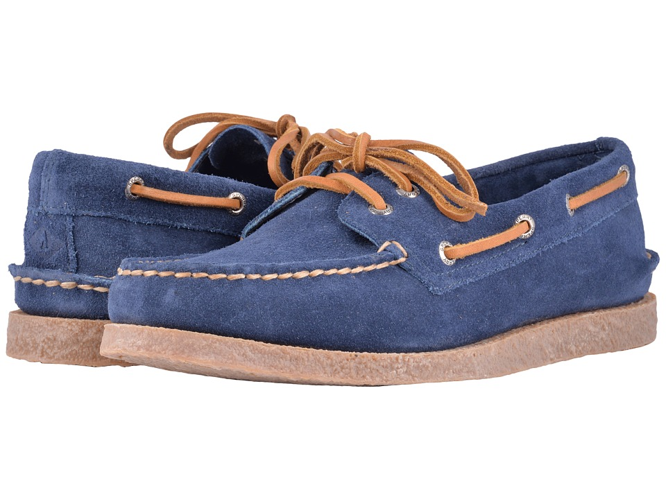 Sperry - A/O 2-Eye Suede (Navy) Mens Shoes