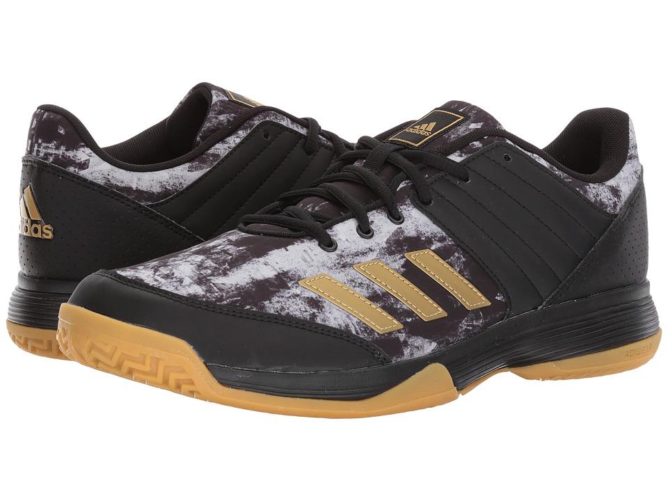 adidas Ligra 5 (Core Black/Gold Metallic/Footwear White) Men