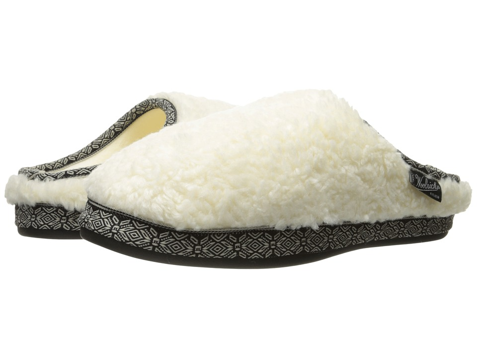 Woolrich Whitecap Mule (Creampuff) Slippers