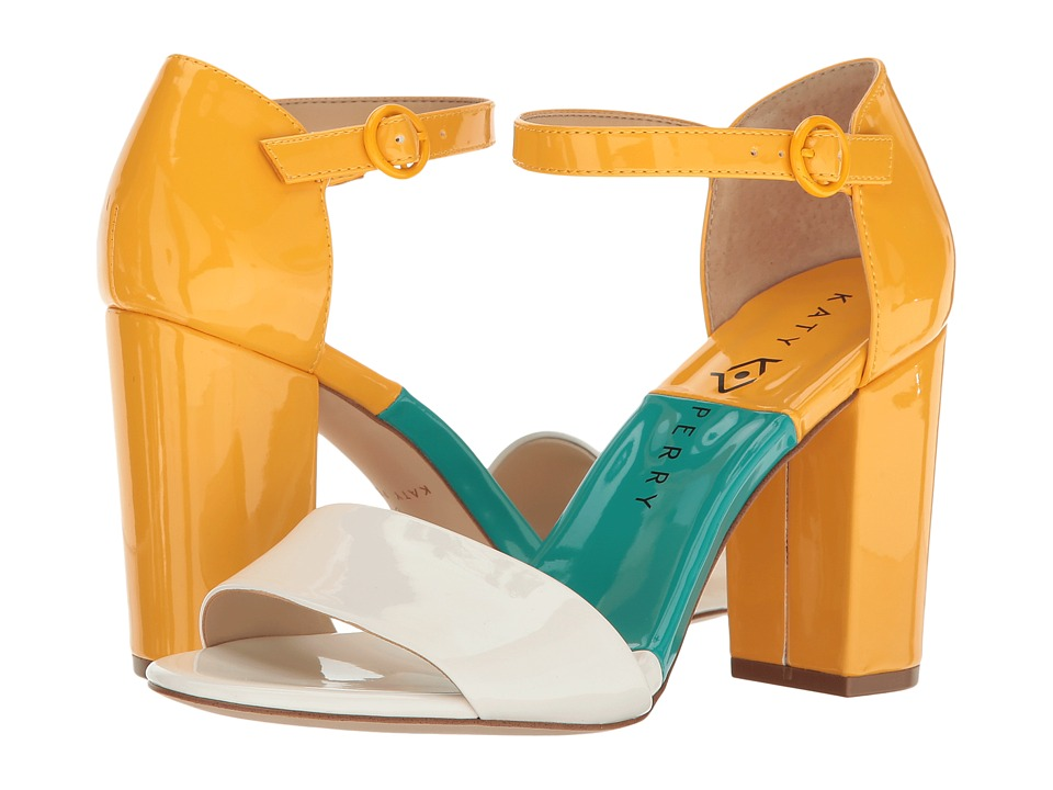 1960s Style Shoes Katy Perry - The Liz White Patent Womens Shoes $69.99 AT vintagedancer.com